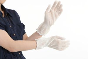 セリシン手袋 シルク